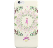 yoga garden VI iPhone Case/Skin