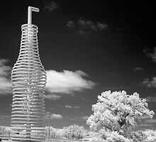 "Infrared View of ""Pops"" on Route 66, Arcadia, Oklahoma by Carol M.  Highsmith"