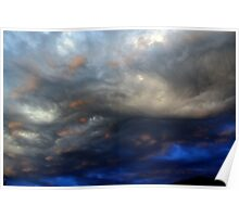 Storm clouds #10 Poster