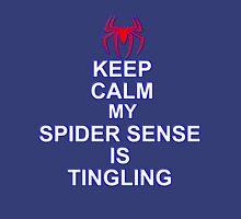 Keep Calm My Spidersense Is Tingiling Unisex T-Shirt