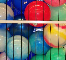 Beach Balls Behind Bars by BarbL