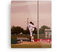 Giants Pitcher Barry Zito - Triple A Rehab Metal Print