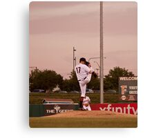 Giants Pitcher Barry Zito - Triple A Rehab Canvas Print
