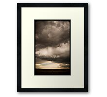 And the skies are not cloudy all day??? Framed Print