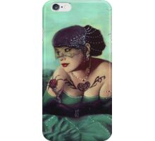 Drowning in a Sea of Taffeta iPhone Case/Skin