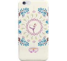 yoga garden V iPhone Case/Skin