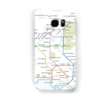 Middle Earth Transit Map Samsung Galaxy Case/Skin