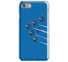 Blue Angels - Delta Formation iPhone Case/Skin