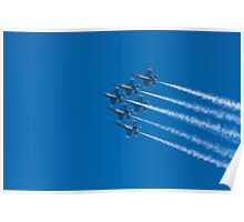 Blue Angels - Delta Formation Poster