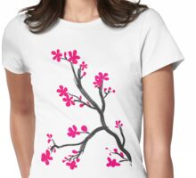Cherry Branch Womens Fitted T-Shirt