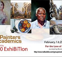 Painter Academics For the Love of Art Exhibition Banner by solo-exhibition