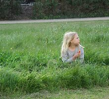 Girl in the Long Grass by pcimages