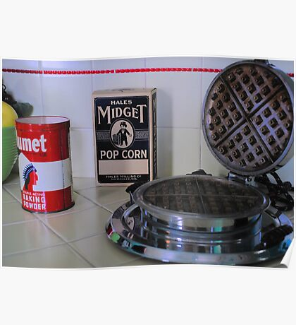 Historic Governor's Mansion kitchen tableau Poster