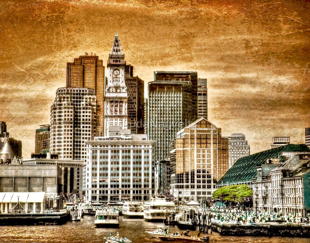 Boston Harbor by LudaNayvelt