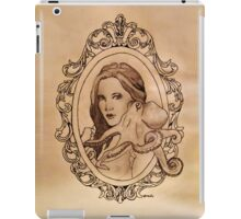 a lady and her paramour iPad Case/Skin
