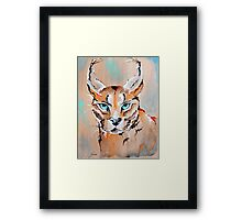 Desert Lynx - Animal Art by Valentina Miletic Framed Print