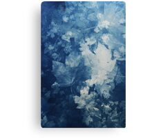 Fall Cyanotype Canvas Print