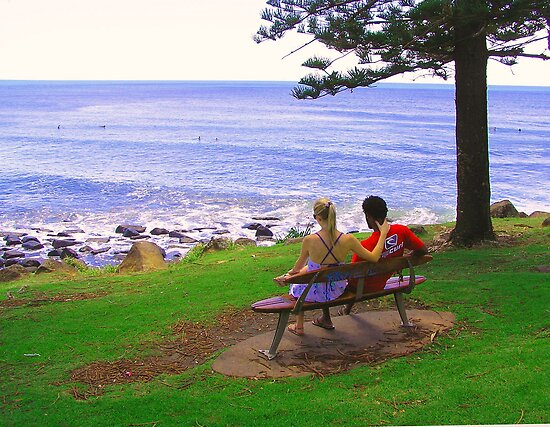 View from Burleigh Headland #2 by Virginia McGowan