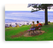 View from Burleigh Headland #2 Canvas Print