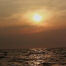 Sunrise Over The Water by Stormy Brannan