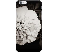 Single White Flower iPhone Case/Skin