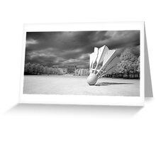 Nelson Atkins Museum Exterior, Infrared View, Kansas City, Missouri  Greeting Card