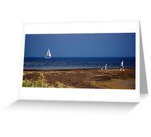 Sailing Port Phillip Bay Greeting Card