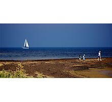 Sailing Port Phillip Bay Photographic Print
