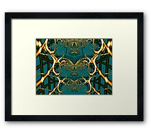 Oh What A Tangled Web..... Framed Print
