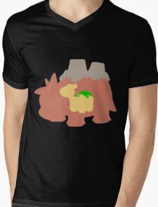 The Camel Mens V-Neck T-Shirt