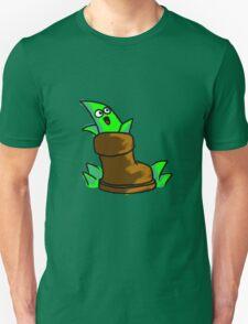 Aloe, aloe, seated in the shoe. T-Shirt