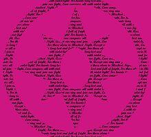 Violet Lantern Corps (Black) by DarkBlueOwl