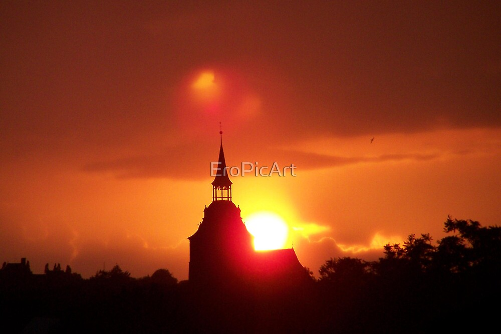 Holy Sunset by EroPicArt