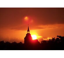 Holy Sunset Photographic Print