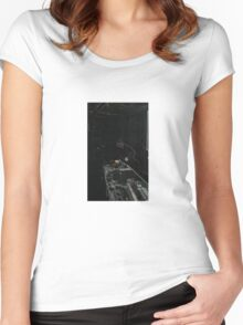 BLACK Electronic Underground #20 Women's Fitted Scoop T-Shirt