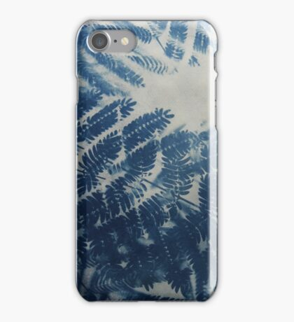Fern Cyanotype iPhone Case/Skin