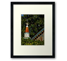 Roof With A View Framed Print