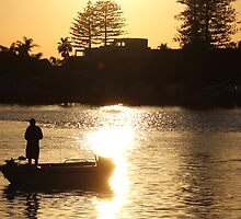 sunrise fishing by beerman70