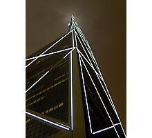 Building Light Show Photographic Print
