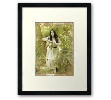 Pandora (the last shreds of hope) Framed Print