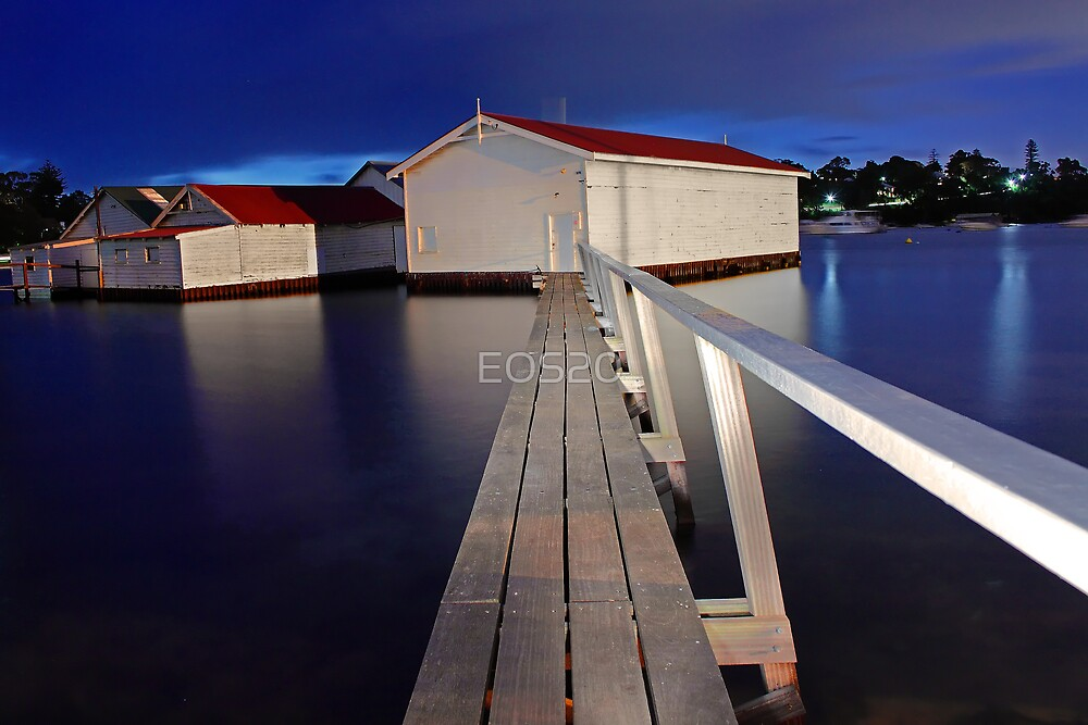 Mosman Bay Boatsheds  by EOS20