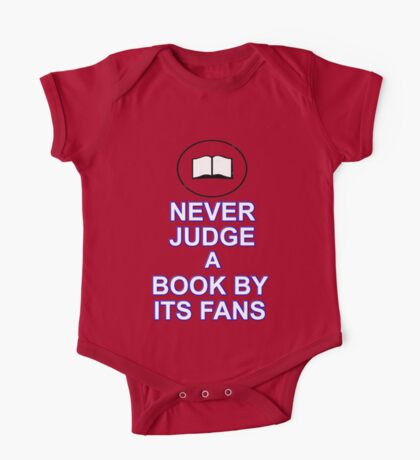 Never Judge A Book One Piece - Short Sleeve