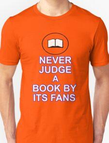 Never Judge A Book Unisex T-Shirt