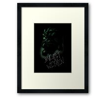 Beast Within Framed Print