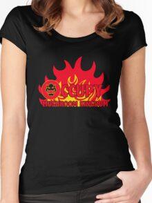 Occupy Mushroom Kingdom Women's Fitted Scoop T-Shirt