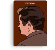 Swanson Canvas Print