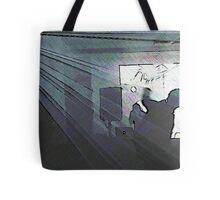 BLACK Electronic Underground #16 Tote Bag