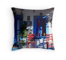 ~ cozy porch ~ Throw Pillow