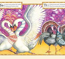 Ballroom Bonanza: Swans samba, Turkeys twist by Nina Rycroft