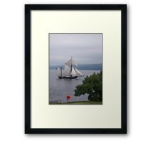 Sailing by Framed Print